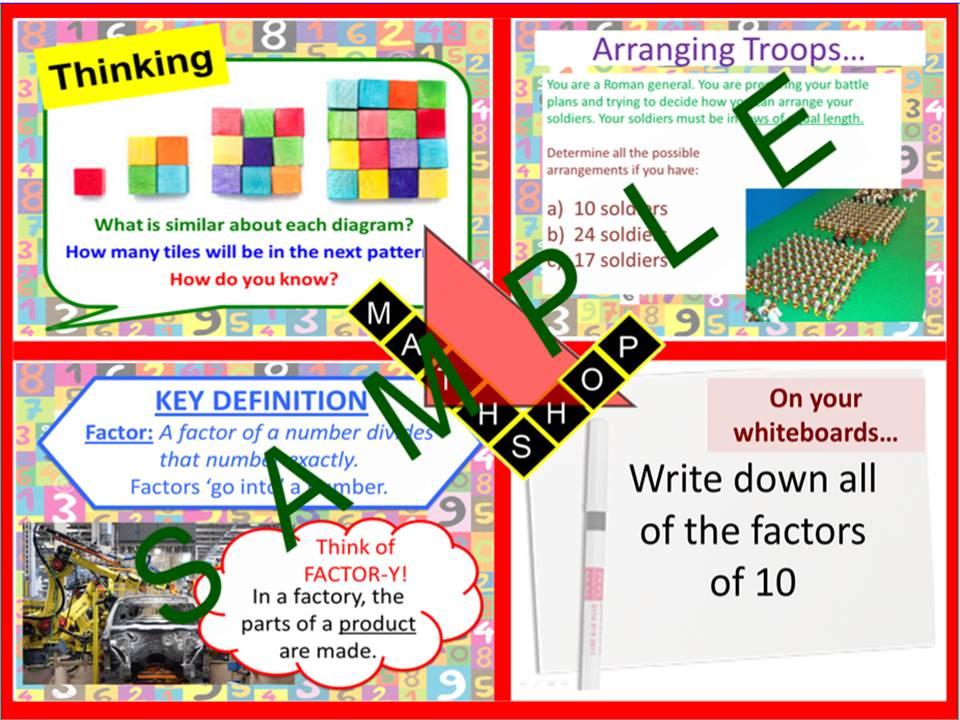 Factors (1 Lesson)