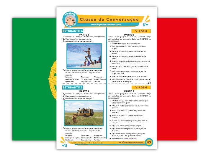 Viagem - Portuguese Speaking Activity