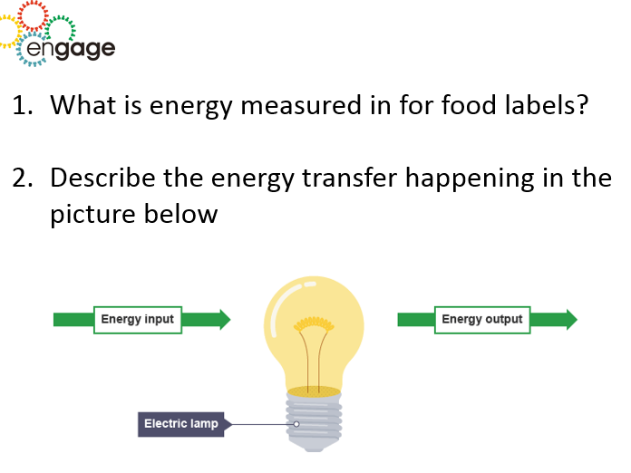 Comparing rates of energy transfer