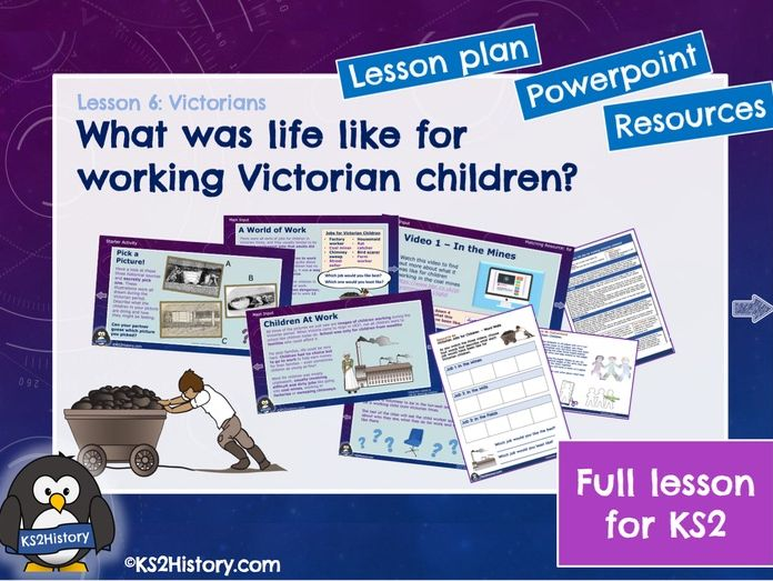 Victorian Working Children (Lesson for KS2)