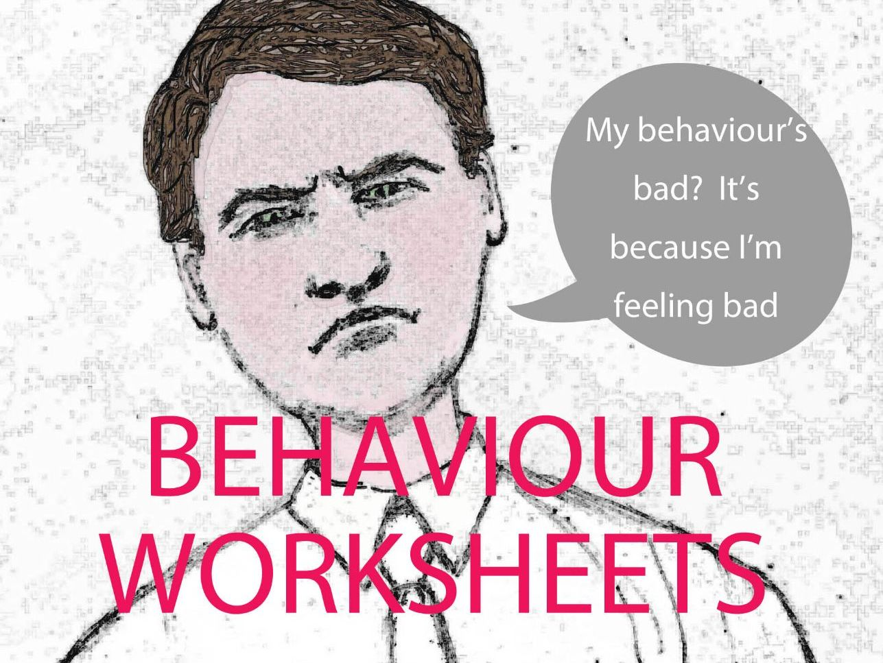 Behaviour, Gratitude and Self-esteem Worksheets Bundle
