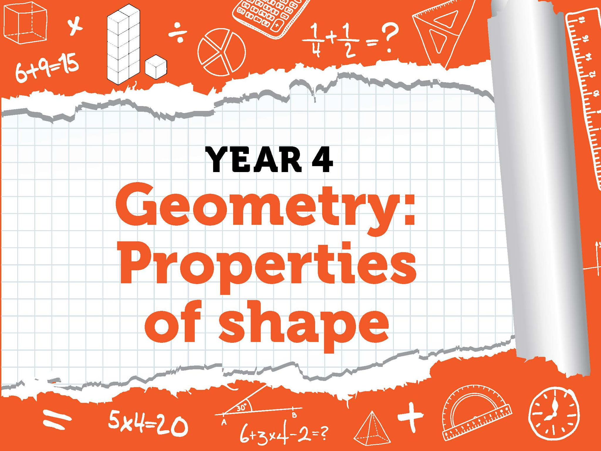 Year 4 - Geometry - Properties of Shape - Summer - Block 5 - BUNDLE White Rose