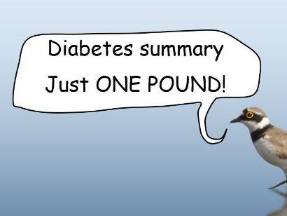 Diabetes Hormones Summary Cloze