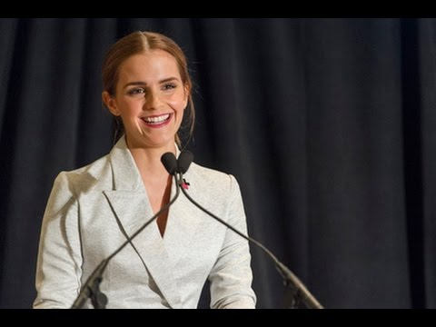 A thorough analysis of Emma Watson's UN speech: feminism/gender equality & video! Argue/Persuade.