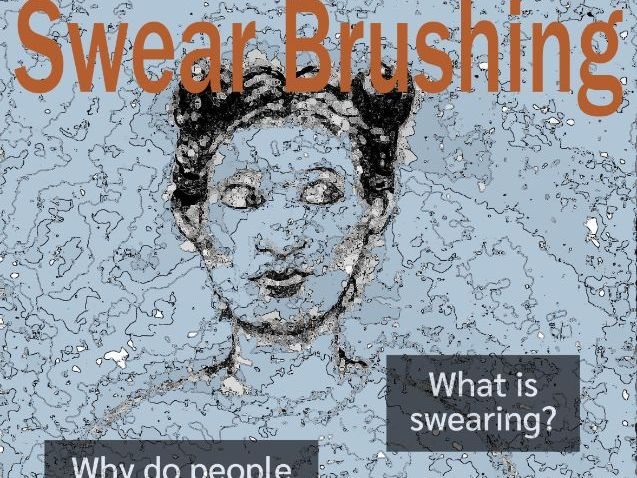 Swear Brushing Quiz Poster and Activity (UK)