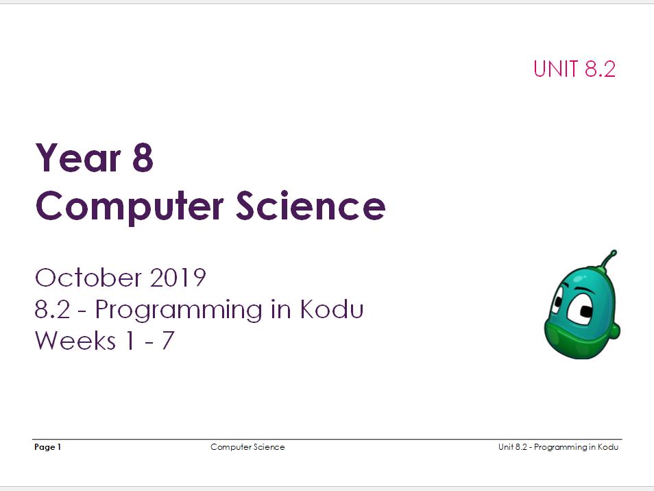 Computer Science: Programming in Kodu [L2]