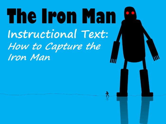 The Iron Man Example Instructions, Feature Identification & Answers