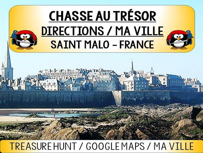 CHASSE AU TRÉSOR (treasure hunt) - Directions / Ma Ville