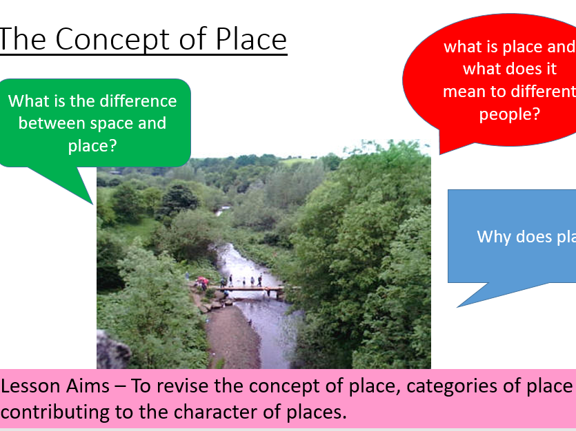 AQA Changing Places - The concept of place revision lesson