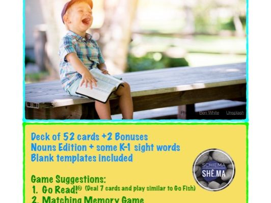 Go Read! Card Game