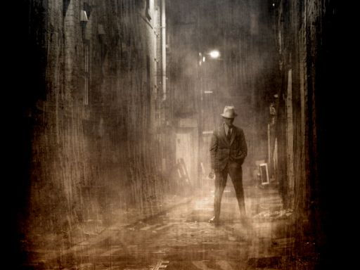 Daguerreotype Style Film Noir Poster - ADOBE PHOTOSHOP CLASS