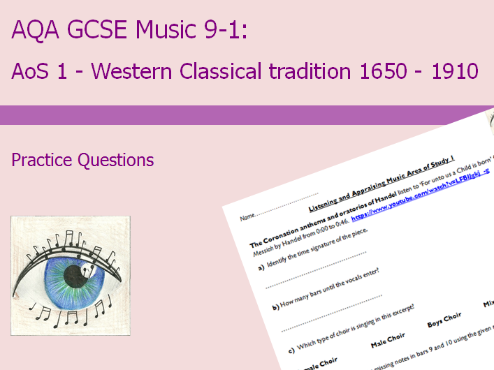 AQA GCSE Music 9-1: AoS1 Practice Questions