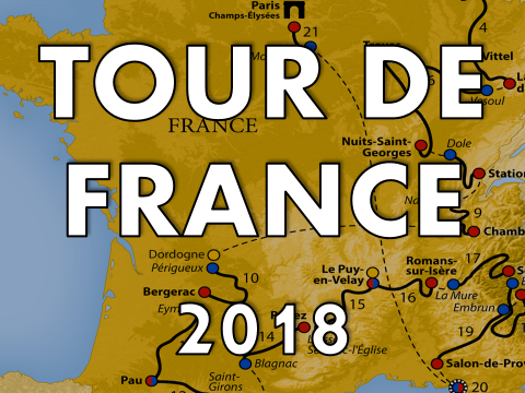 Tour de France Presentation 2018  - worksheet, assembly,  lesson, quiz, activity, resource, July