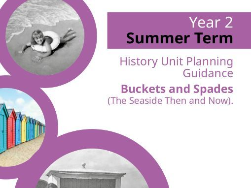 History Unit Planning Guidance: Buckets and Spades (The Seaside Then and Now).