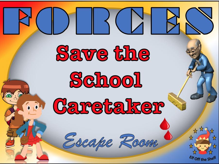 Forces Escape Room - Save the Caretaker KS3