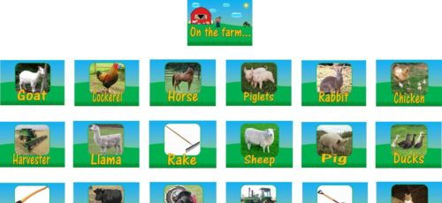 A4 Farm Poster Pack 25 posters