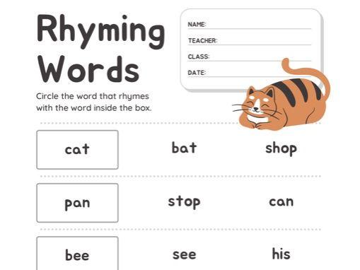 English spelling resource