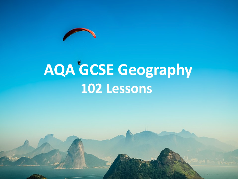 GCSE Geography - The Challenge of Natural Hazards, Physical Landscapes in the UK, The Living World, Urban Issues and Challenges & The Changing Economic World