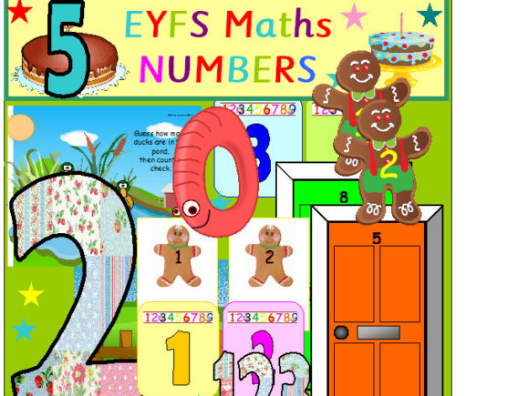 NUMBER TEACHING RESOURCES EYFS MATHS 15 FULL SETS For numbers