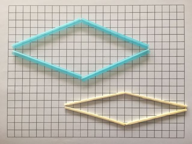 Investigation: Every square is a rhombus but not every rhombus is a square.