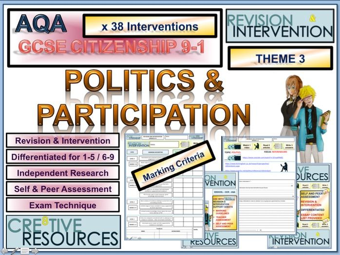 GCSE Citizenship Revision AQA Theme 3