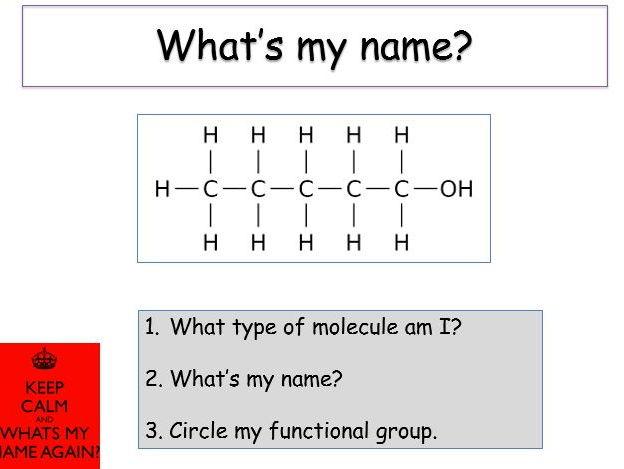 KS4 Organic reactions - lesson bundle