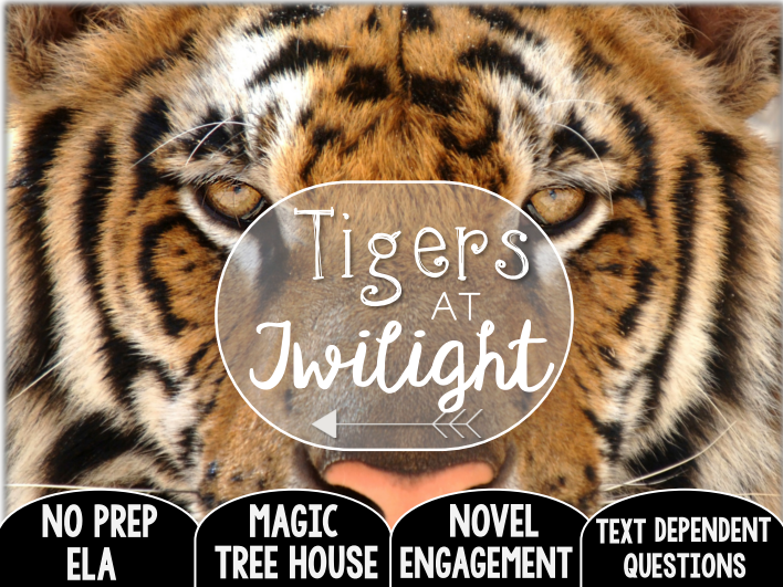 Tigers at Twilight: Text Dependent Questions