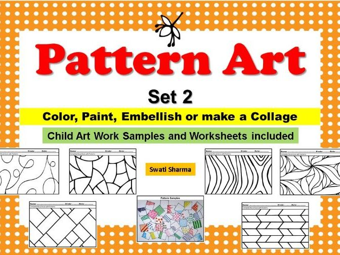 Art Project Pop Art/Pattern Art Set 2