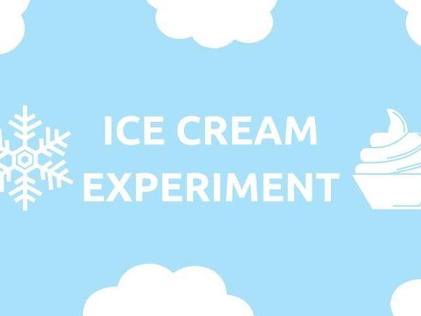Science Investigation - Making Ice-cream