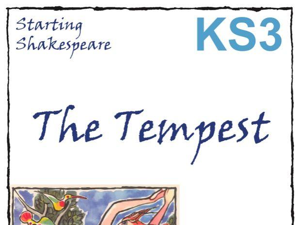 Starting The Tempest Scheme of Work