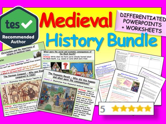 Medieval History: Medieval History Bundle