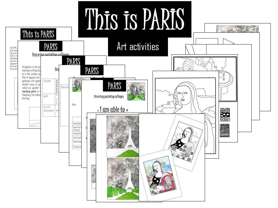 Masterpieces from Paris,  Art activities