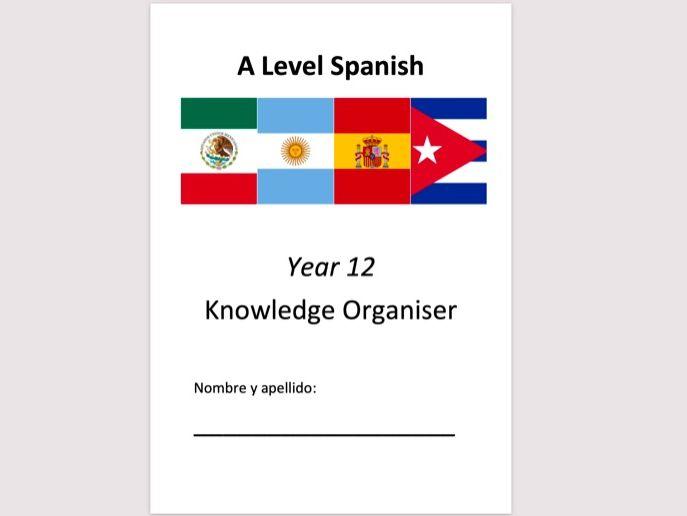 Year 12 Spanish A Level Knowledge Organiser (non-editable)