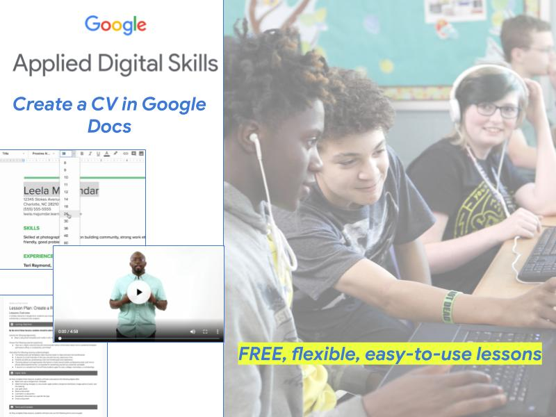 Create a CV in Google Docs