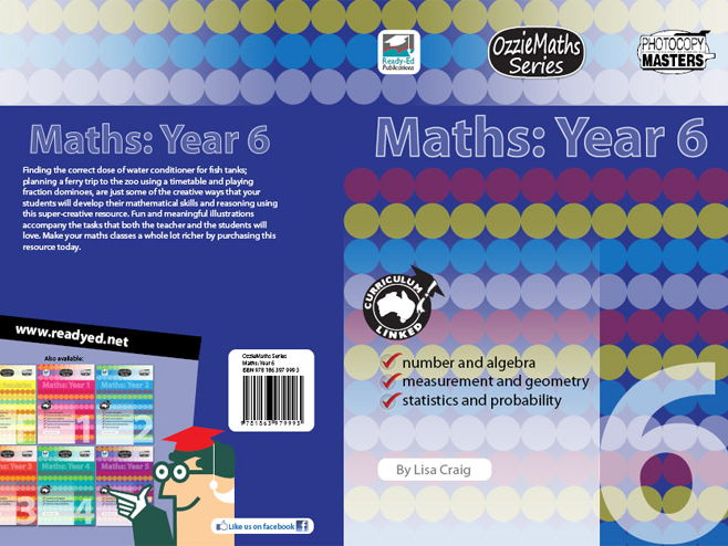 OzzieMaths Series – Maths: Year 6 (Australian E-book)