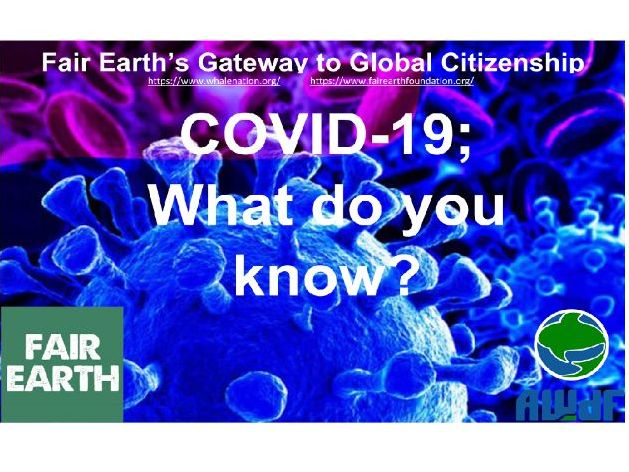 COVID-19; What do you know?