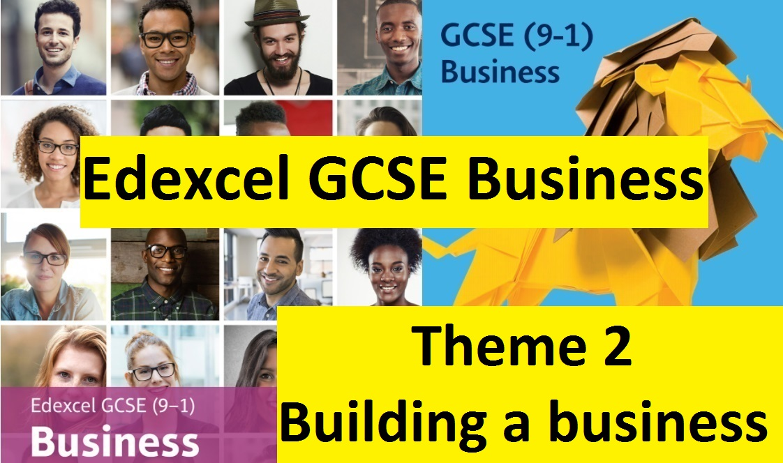 Edexcel GCSE Business - Theme 2 (FULL bundle updated for 2021)