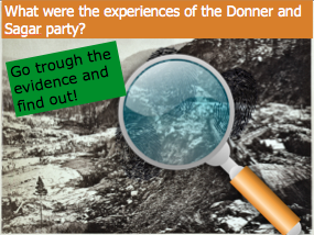 *FULL LESSON* What were the experiences of the Donner and Sagar party? GCSE American West