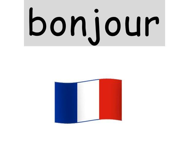 Hello in French - Bonjour - first lesson KS1 (or Year 3)