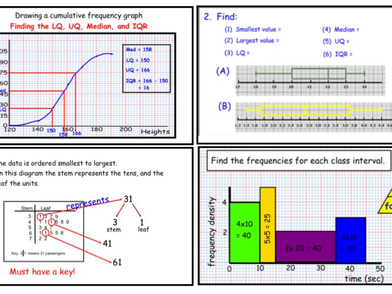 GCSE Statistics Revision 1 (notebook)