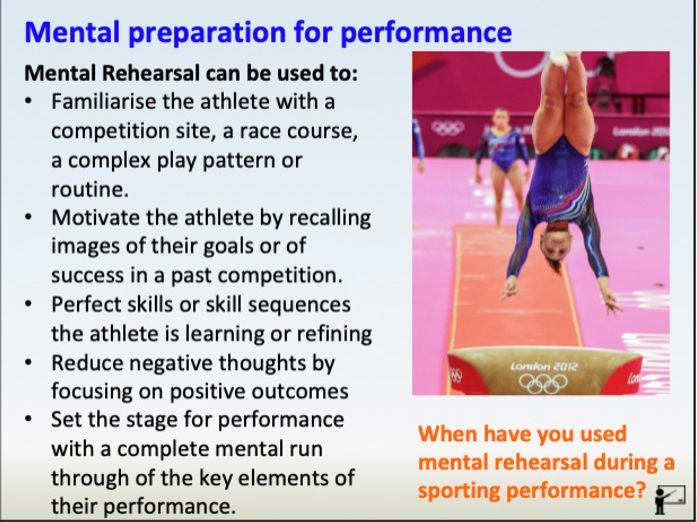 GCSE PE: Sport Psychology, Mental Preparation (Component 2)