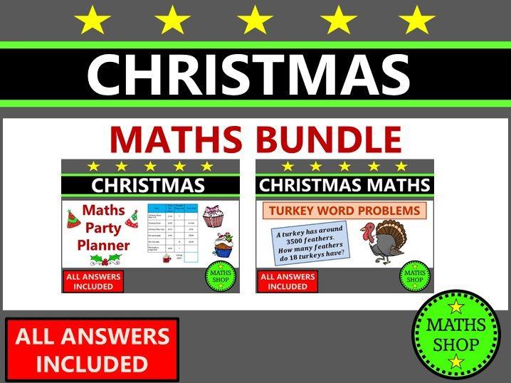 Christmas Maths Word Problems