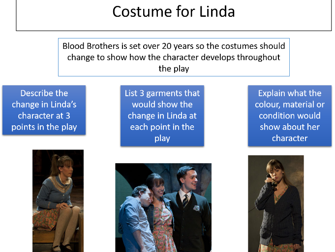 Blood Brothers Exploration- L9 Costume