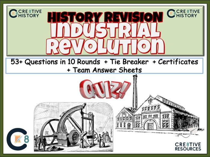 Industrial Revolution Revision Quiz