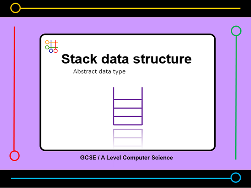 Presentation:   stack data structure (x10 slides)