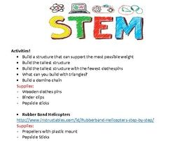 STEM/Coding Activities
