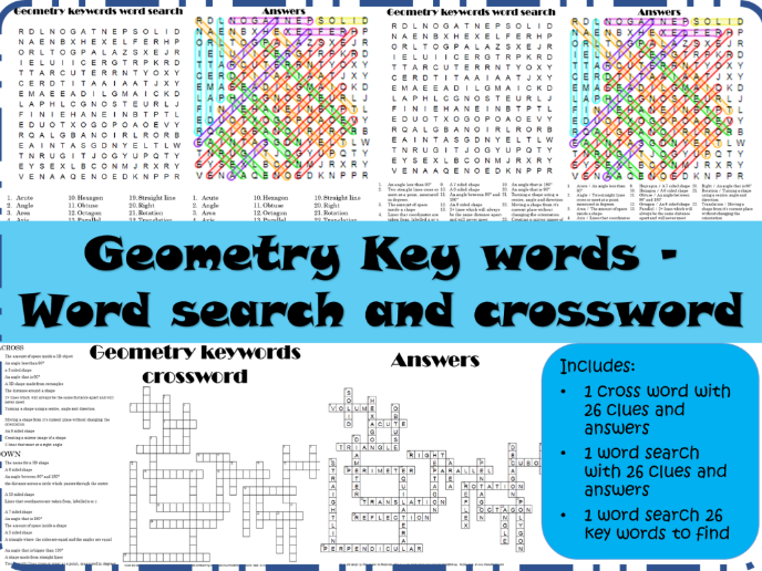 High School Math Resources: Geometry and Measures 9th to 12th Grade ...