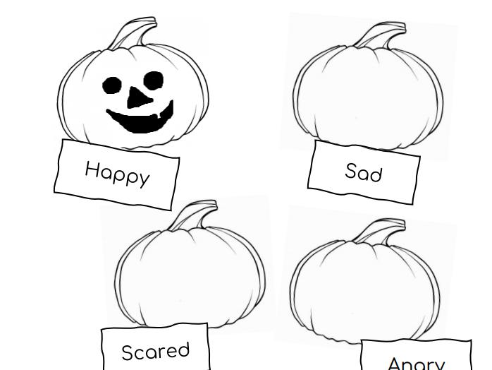 The Halloween Pumpkins