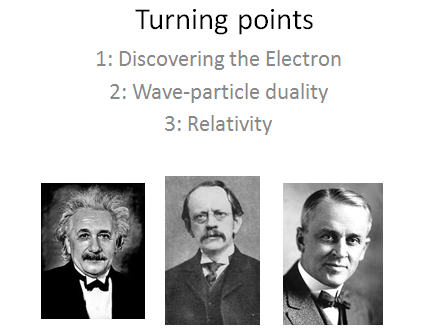 AQA Alevel Physics - Turning points L1