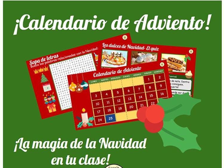 CALENDARIO DE ADVIENTO NAVIDAD SPANISH 2019